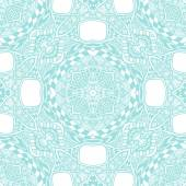 Seamless pattern from abstract  ornament light blue — Stock Vector