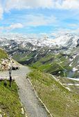 Grossglockner - the highest mountain of Austria — Stock Photo