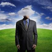 Head in the clouds — Stock Photo
