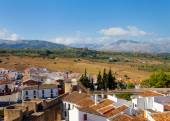 View on the outskirts of Ronda village — Stock Photo