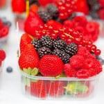Fresh berries in box — Stock Photo #62177757