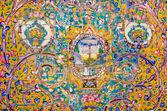 Keramiska plattor med traditionella Persiska mönster — Stockfoto