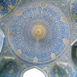 Patterns under the dome of the ancient Iranian mosque — Stock Photo #67151337