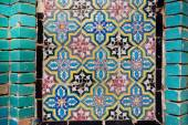 Pattern on the tile of the wall — Foto Stock