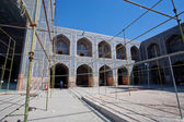 Reconstruction period of inner space of persian Mosque. — Stock Photo