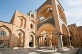 Exterior of the historical armenian Vank Cathedral — Stock Photo