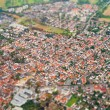 Old town. View from the plane. — Stock Photo #55364797