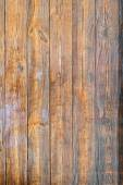 Brown textured wooden board background. Vertical. — Stock Photo