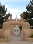 San Francisco de Asis Church in Taos — Stock Photo