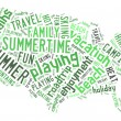 Word cloud with words — Stock Photo #68231071