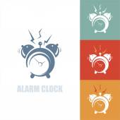 Illustration of alarm clock — Stock Vector