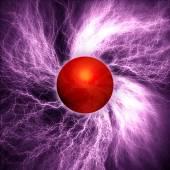 Lightning Ball — Stock Photo