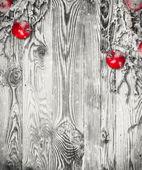 Decorazione di natale su legno — Foto Stock