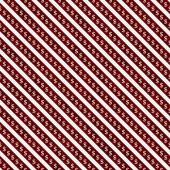 Red and White Dollar Signs and Stripes Pattern Repeat Background — Stock Photo