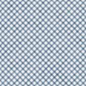 Medium Blue Gingham Pattern Repeat Background — Stock Photo