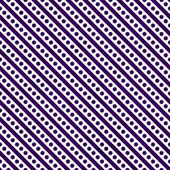 Dark Purple and White Small Polka Dots and Stripes Pattern Repea — Stock Photo