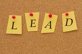 Lead — Stock Photo