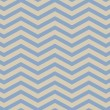Blue and Beige Chevron Zigzag Textured Fabric Pattern Background — Stock Photo #52943005