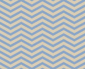 Blue and Beige Chevron Zigzag Textured Fabric Pattern Background — Stock Photo