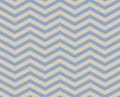 Blue and Beige Chevron Zigzag Textured Fabric Pattern Background — Stock Photo
