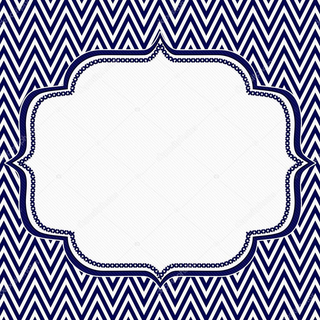 fondo azul marino y blanco chevron marco zigzag � foto de