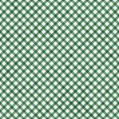 Dark Green Gingham Pattern Repeat Background — Stock Photo