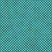 Bright Teal and White Small Polka Dots Pattern Repeat Background — Stock Photo