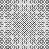 Black and White Square Geometric Repeat Pattern Background — Stock Photo