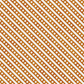 Bright Orange and White Small Polka Dots and Stripes Pattern Rep — Stock Photo