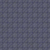 Navy Blue and White Square Geometric Repeat Pattern Background — Stock Photo