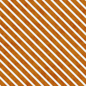 Orange and White Striped Pattern Repeat Background — Stock Photo