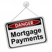 Dangers of having Mortgage Payment — Stock Photo