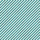 Bright Teal and White Striped Pattern Repeat Background — Stock Photo