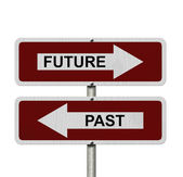 Future versus Past — Stock Photo