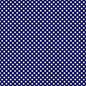 Navy Blue and White Small Polka Dots Pattern Repeat Background — Stock Photo