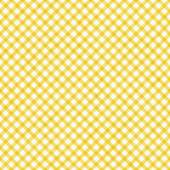 Bright Yellow Gingham Pattern Repeat Background  — Stock Photo