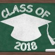 Class of 2018 Message — Stock Photo
