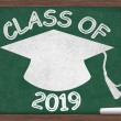 Class of 2019 Message — Stock Photo