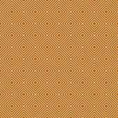Orange and White Diamonds Tiles Pattern Repeat Background — Stock Photo