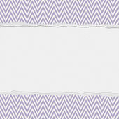 Purple and White Torn Chevron Frame Background — Stock Photo