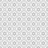 Gray and White Star of David Repeat Pattern Background — Stock Photo