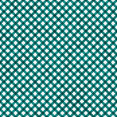 Teal Gingham Pattern Repeat Background — Stock Photo