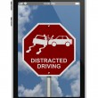 Постер, плакат: Warning of Distracted Driving