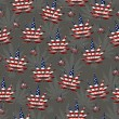 Marijuana in the USA Leaf Pattern Repeat Background — Stock Photo #57285649