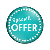 Special Offer Button — Stock Photo