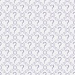 Purple and White Question Mark Symbol Pattern Repeat Background — Stock Photo #57822105