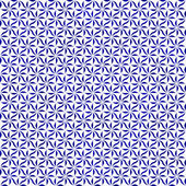 Blue and White Decorative Swirl Design Textured Fabric Backgroun — Stock Photo
