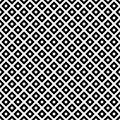 Black and White Diagonal Squares Tiles Pattern Repeat Background — Stock Photo