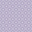 White and Purple Fleur-De-Lis Pattern Textured Fabric Background — Stock Photo #58802067