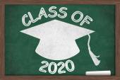 Class of 2020 Message — Stock Photo